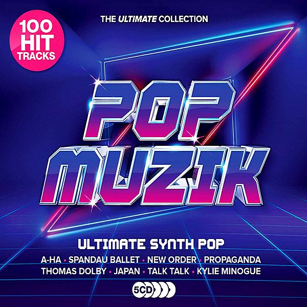 VA - Pop Muzik: Ultimate Synth-Pop Anthems [5CD] (2019) MP3 скачать торрентом