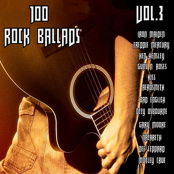 VA - 100 Rock Ballads Vol.3 (2019) MP3 скачать торрентом