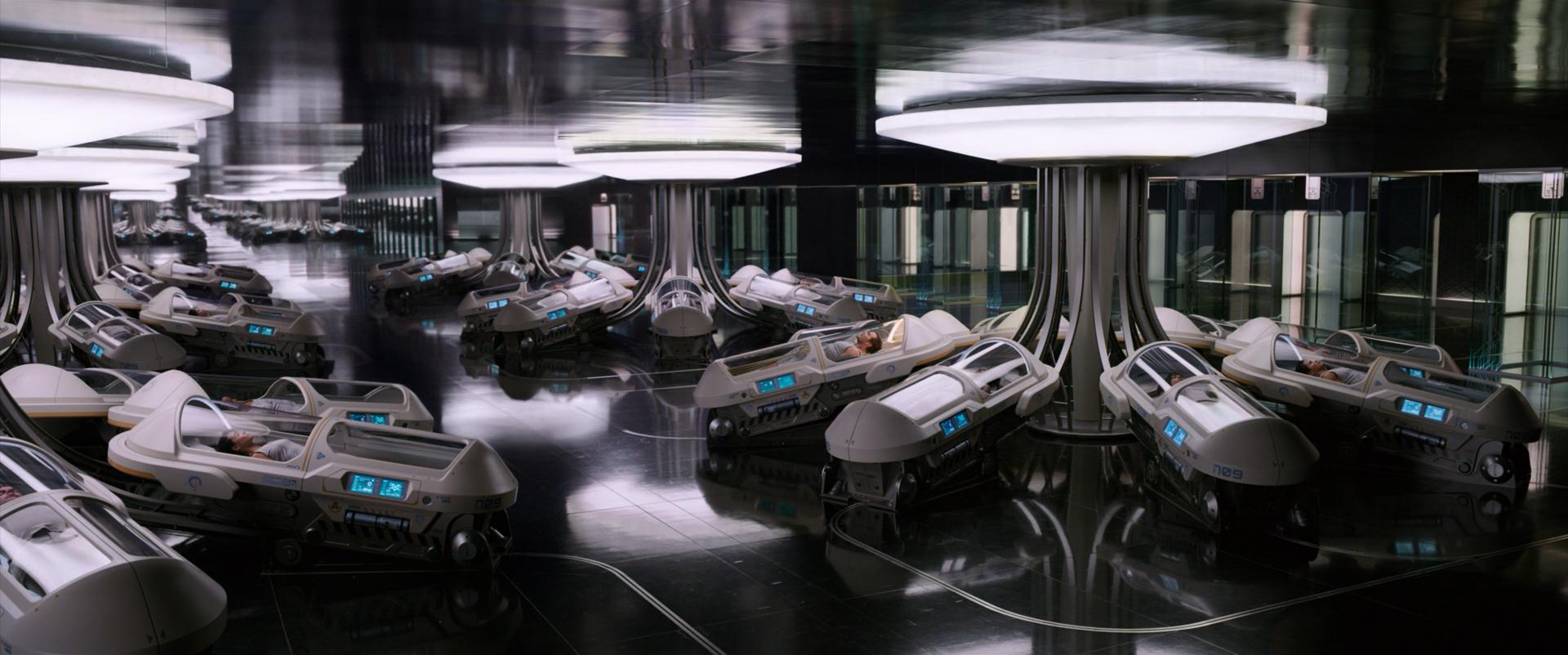 Пассажиры / Passengers (2016) BDRip 1080p | Лицензия