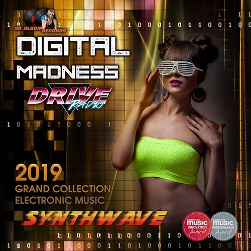 VA - Digital Madness: Synthwave Electronic Collection (2019) MP3 скачать торрентом