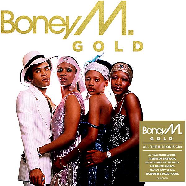 Boney M. - Gold [3CD] (2019) MP3 скачать торрентом