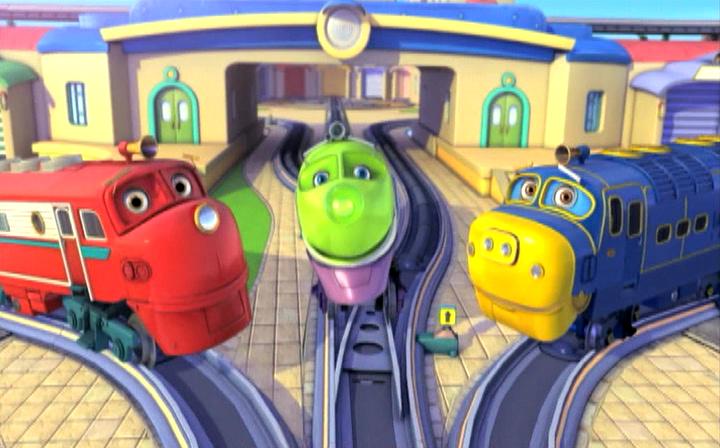 Чаггингтон: Веселые паровозики [01-04 сезоны: 01-118 серии из 118] | DVDRip, BDRip | D | лицензия