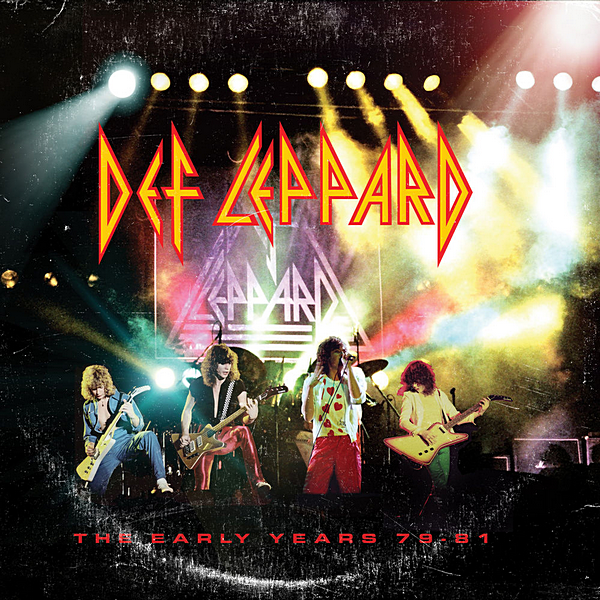 Def Leppard - The Early Years 79-81 [5CD] (2020) MP3
