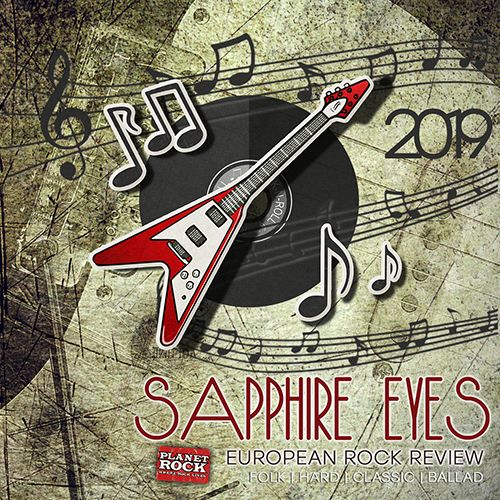 VA - Sapphire Eyes. European Rock Review (2019) MP3 скачать торрентом
