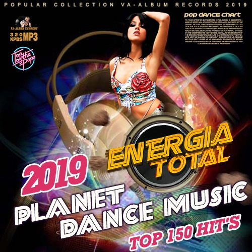 VA - Planet Dance Music: Euromix Energia Total (2019) MP3 скачать торрентом