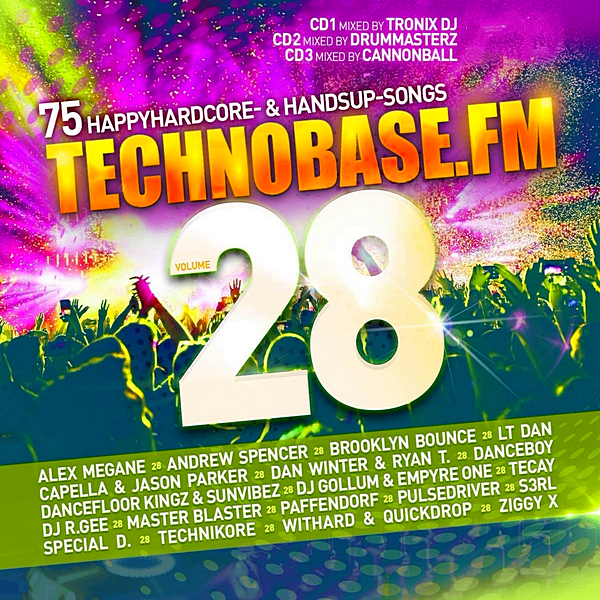 VA - Technobase.FM Vol. 28 [Mixed & Unmixed] (2020) MP3 скачать торрентом