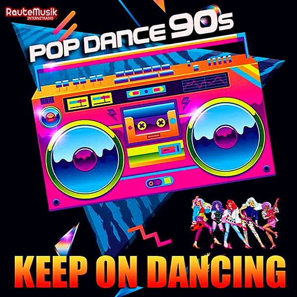 VA - Keep On Dancing: Pop Dance 90s (2019) MP3 скачать торрентом
