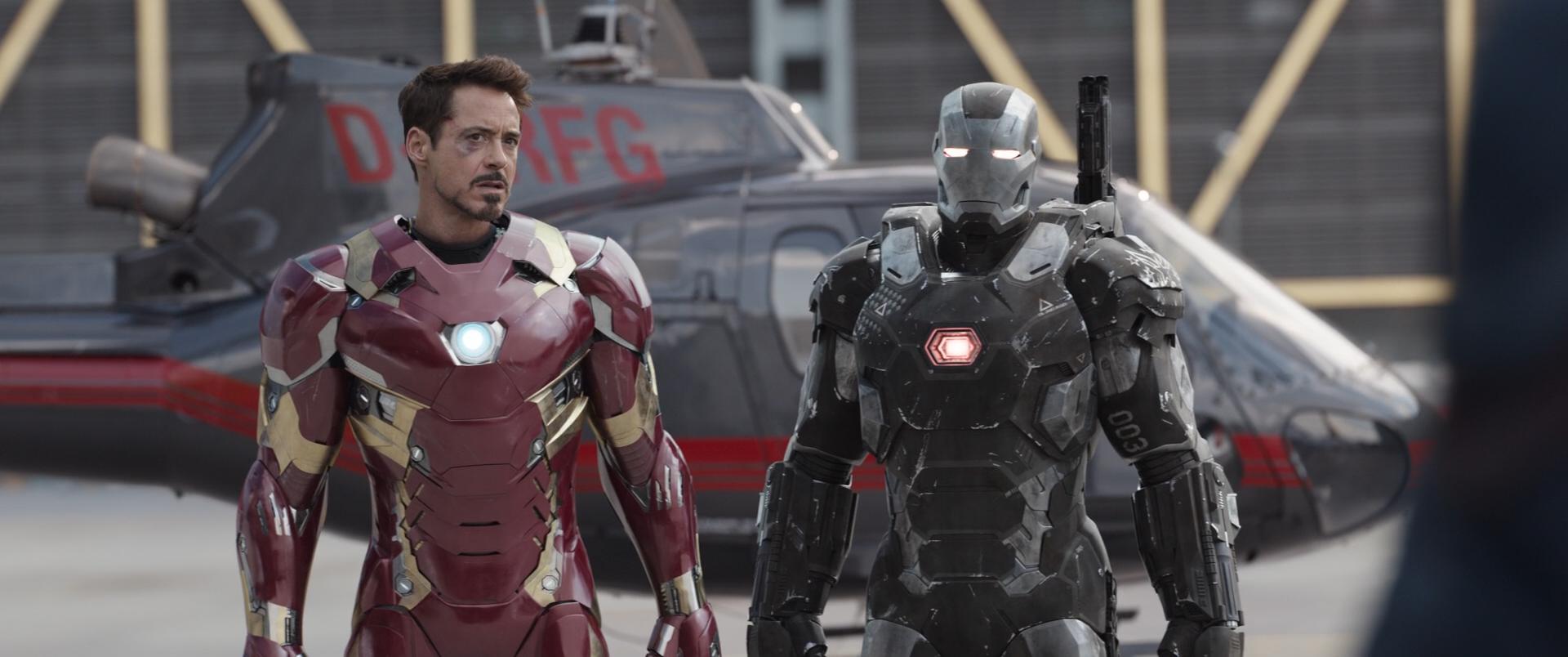 Первый мститель: Противостояние / Captain America: Civil War (2016) BDRip 1080p | iTunes